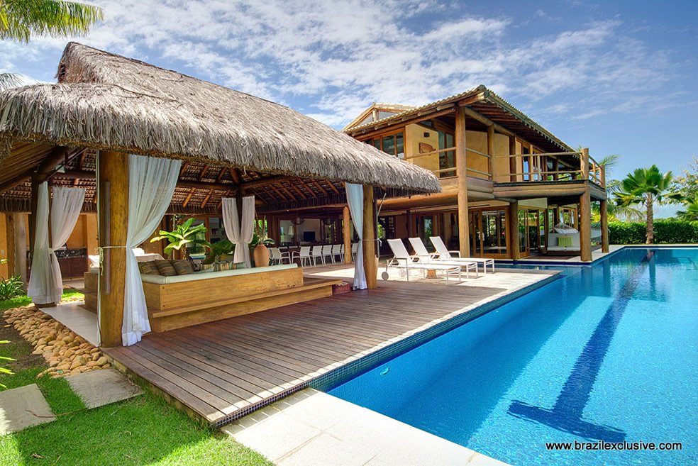 luxury 6 bedroom property mansion for sale in terravista trancoso the house has a large pool ocean views and direct access to the golf course - 6 Bedroom House For Sale
